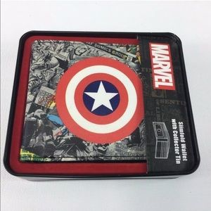 Captain America Collector's Slimfold Wallet